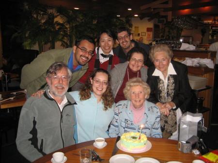 Nanna's birthday