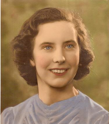 Nanna in her youth